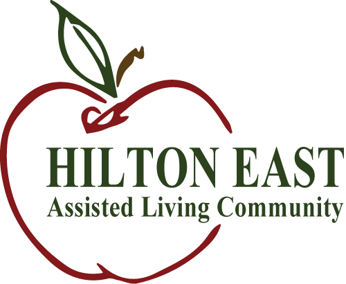 Hilton East Assisted Living Logo with Tree